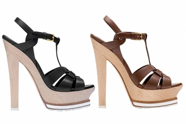 Yves Saint Laurent Resort 2012 Shoes