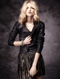 Anabela Belikova for Mango Holiday 2011 Lookbook