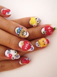 Cool Japenese Nail Art Trends 2012