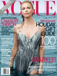 Charlize Theron Covers Vogue December 2011