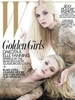 Dakota and Elle Fanning Cover W Magazine December 2011