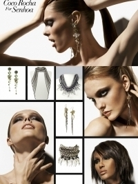 Coco Rocha for Senhoa Jewelry Collection