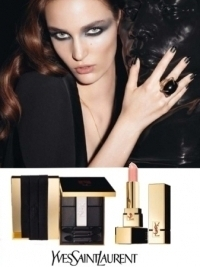 Yves Saint Laurent Christmas 2011 Makeup Look