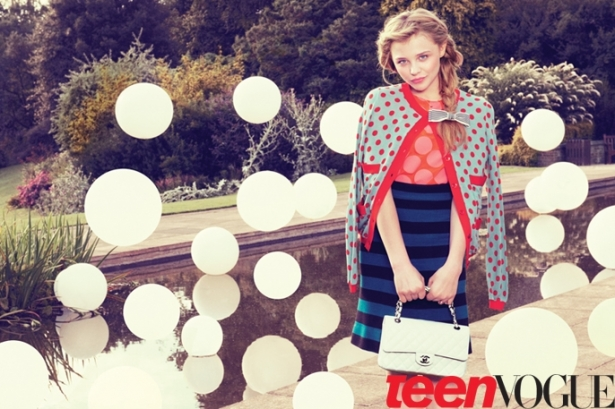 Chloë Moretz Covers Teen Vogue December 2011/January 2012