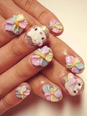 Hello Kitty 3d Nail Art Kitharingtonweb