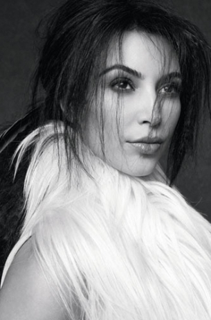Kim Kardashian Marie Claire 2011 December Photos