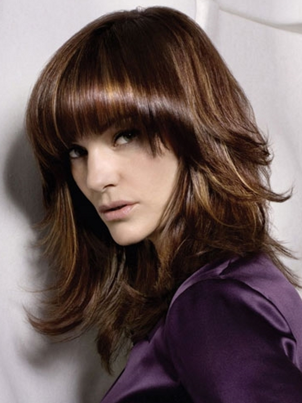 Easy To Style Medium Haircuts 2012