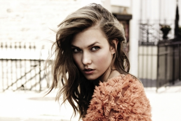 Karlie Kloss for EnC Fall/Winter 2011-2012 Ad Campaign