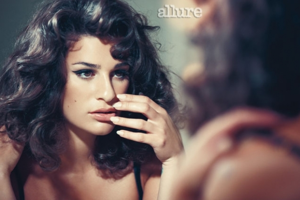 Lea Michele Covers Allure December 2011