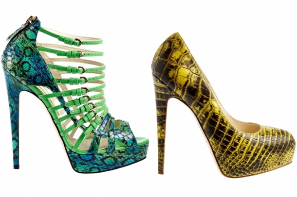 Brian Atwood Spring 2012 Shoes