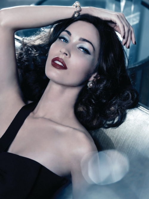 Megan Fox for Giorgio Armani Makeup Holiday 2011