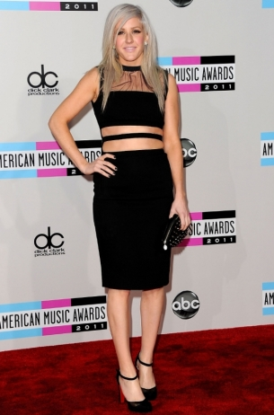 Ellie Goulding 2011 AMAs Red Carpet