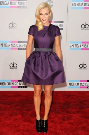 Jenny McCarthy 2011 AMAs Red Carpet