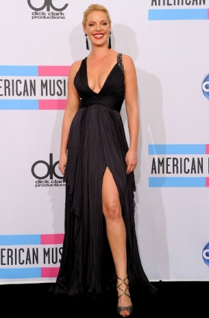 Katherine Heigl 2011 AMAs Red Carpet
