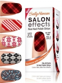 Sally Hansen Holiday 2011 Nail Strips