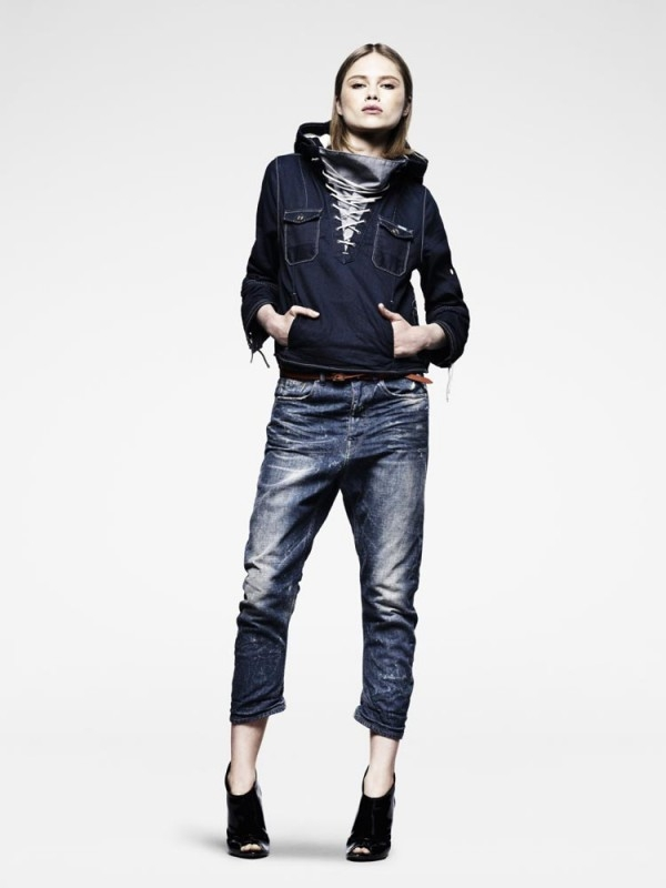 Cropped Jeans Womens