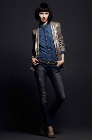 Stradivarius December 2011 Lookbook