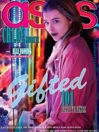 Chloe Moretz Covers ASOS Magazine December 2011