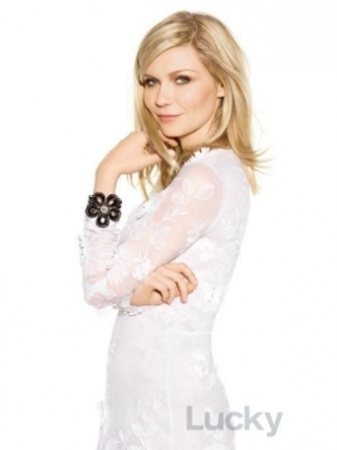 Kirsten Dunst Covers Lucky January 2012