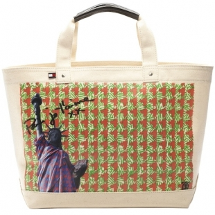 Tommy Hilfiger Americans in Paris Tote Collection
