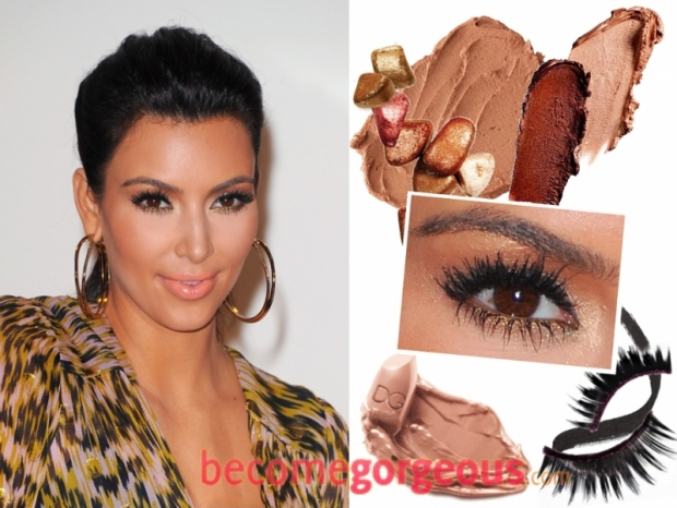 Celebrity Holiday Makeup Ideas