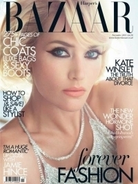 Kate Winslet Covers Harper's Bazaar UK November 2011