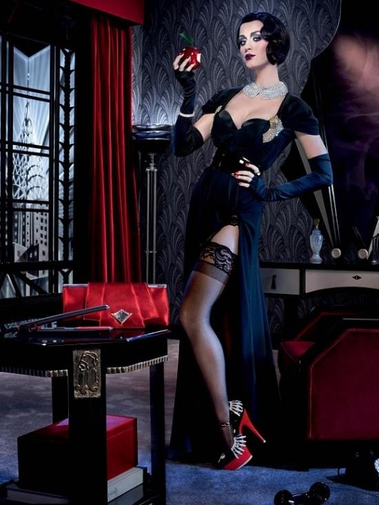 Katy Perry 1920s Makeover for ghd Campaign