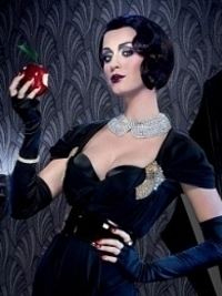Katy Perry 1920s Makeover for ghd Scarlet Campaign