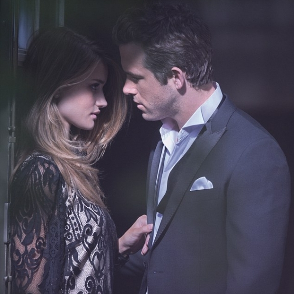 Ryan Reynolds and Rosie Huntington-Whiteley for M&S Autograph Campaign