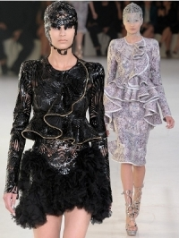 Alexander McQueen Spring 2012 - Paris Fashion Week