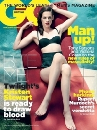 Kristen Stewart Goes Vintage Glam for GQ UK November 2011
