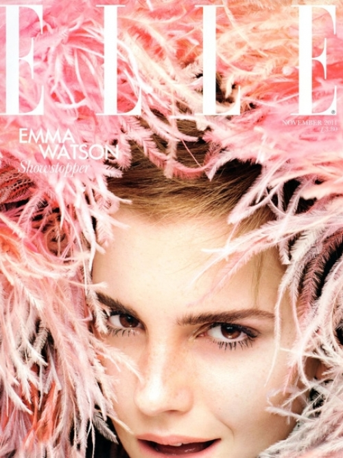 Emma Watson Covers Elle UK November 2011