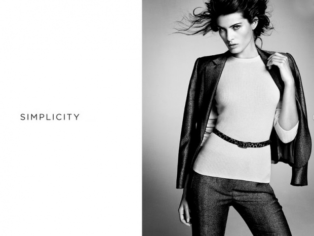 Isabeli Fontana for Mango Simplicity Lookbook