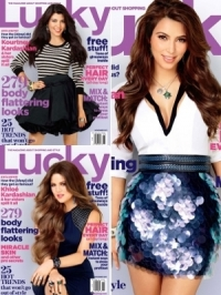 Kardashian Sisters Talk Fashion and Weddings with Lucky November 2011