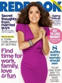 Salma Hayek Covers Redbook Magazine November 2011 Issue