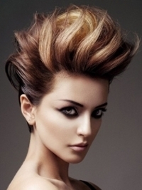 Glam Short Haircut Ideas 2012