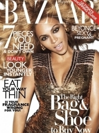 Beyonce Talks Pregnancy with Harper's Bazaar November 2011