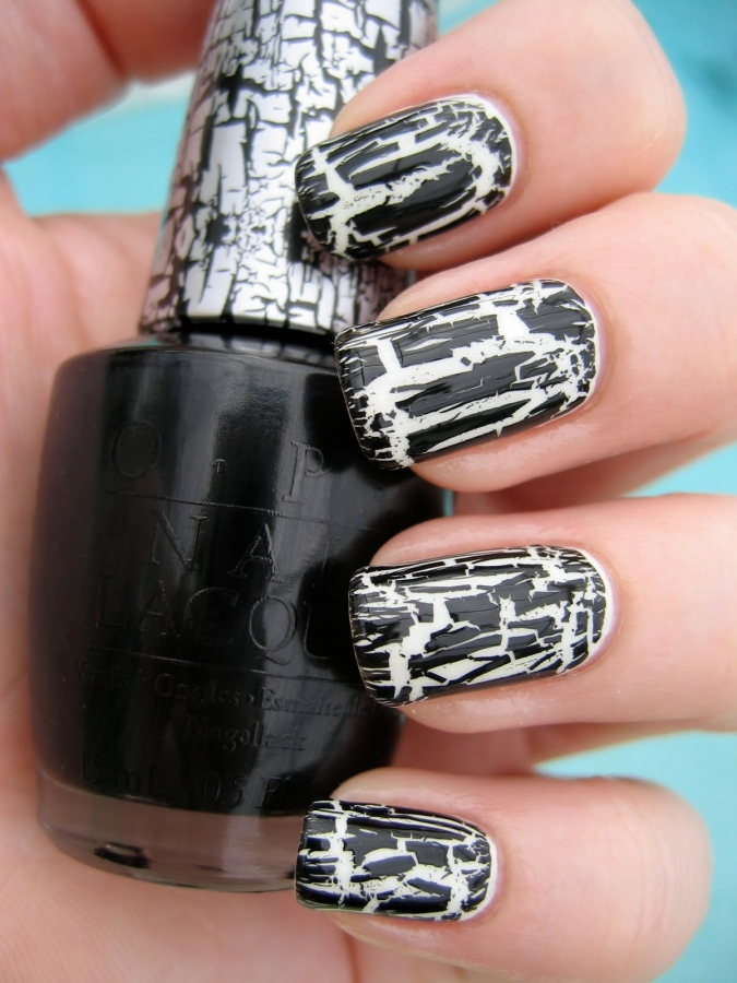 Easy Halloween Nail Art Designs.