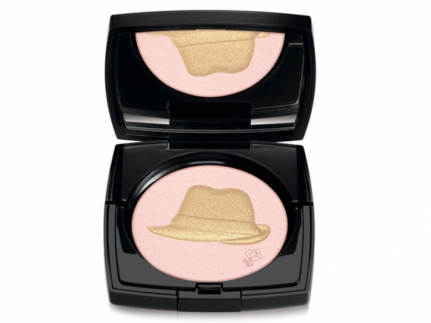 Lancome Holiday 2011 Golden Hat Face Powder