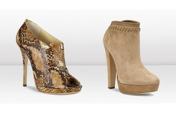 Jimmy Choo Fall 2011 Booties