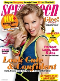 Heather Morris Covers Seventeen November 2011