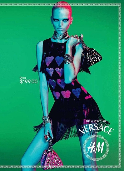 Versace for H&M Collection Campaign.