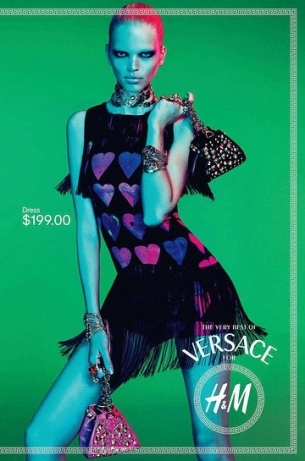 Versace for H&M Campaign