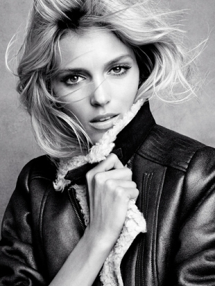 Anja Rubik for H&M Winter 2011 Collection