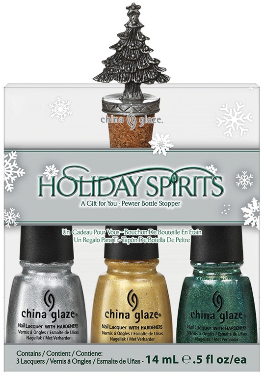 China Glaze Let It Snow Holiday 2011 Nail Polish Collection.