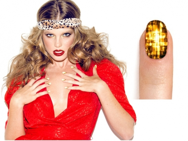 NCLA Boogie Nights Nail Art Wraps Collection.