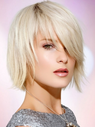 Medium Layered Hair Style