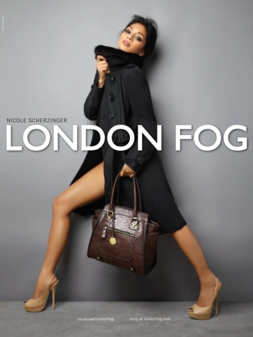 Nicole Scherzinger is the New Face of London Fog