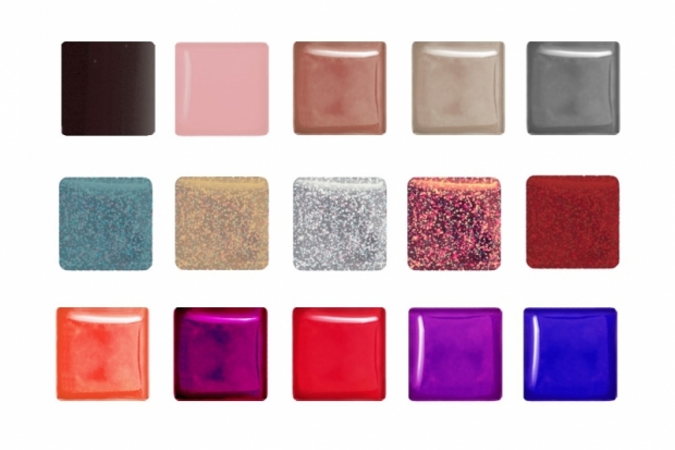 Nails Inc The In Crowd Holiday 2011 Nail colours