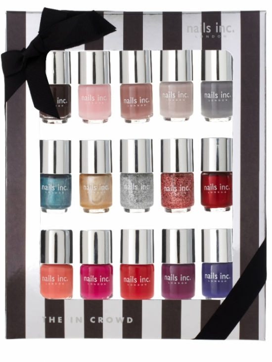 Nails Inc The In Crowd Holiday 2011 Nail Collection